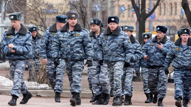 Des policiers russes.
