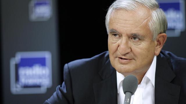 Jean-Pierre Raffarin, sénateur de la Vienne, le 4 septembre 2011.