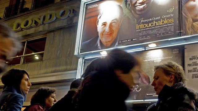 Une affiche du film Intouchables