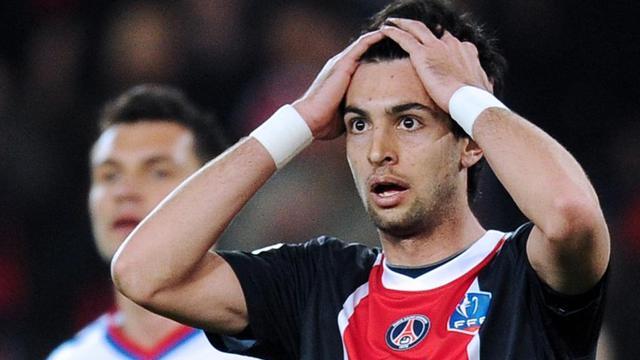 Javier Pastore, lors du match contre l'OL