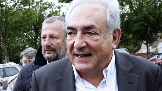 Dominique Strauss-Kahn le 6 mai 2012