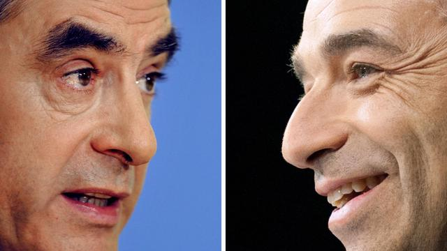 Photomontage de Jean-François Copé et François Fillon réalisé le 24 mai 2012.