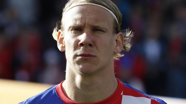 Le joueur Domagoj Vida.