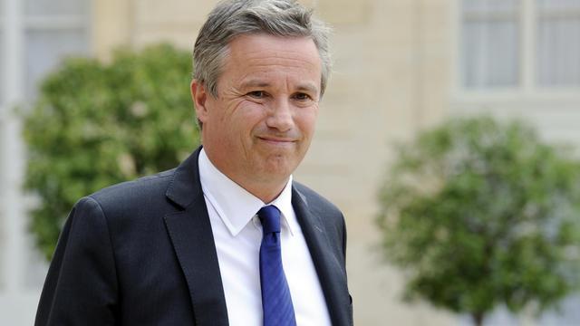 Nicolas Dupont-Aignan, le chef de file de Debout la République le 11 juin 2012.