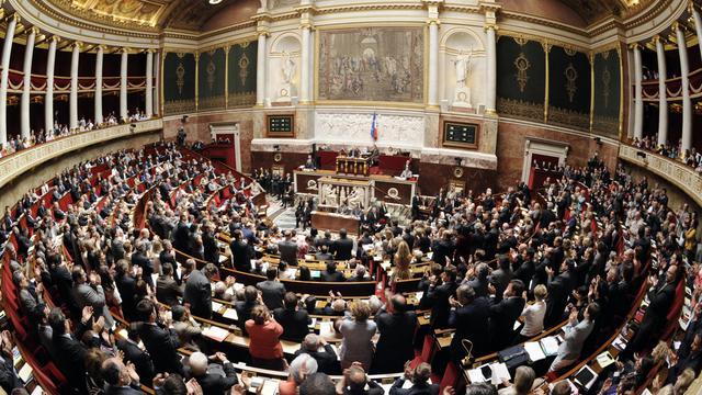 L'Assemblée nationale le 17 juillet 2012.