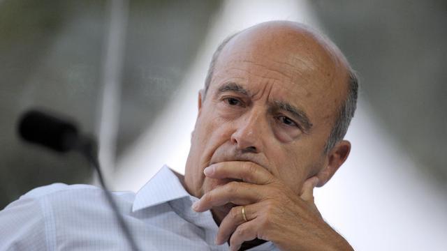 Alain Juppé, le 29 août 2012