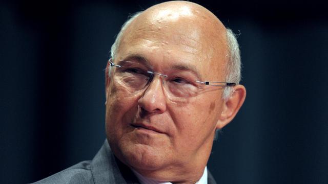 Le ministre du Travail, Michel Sapin le 30 août 2012