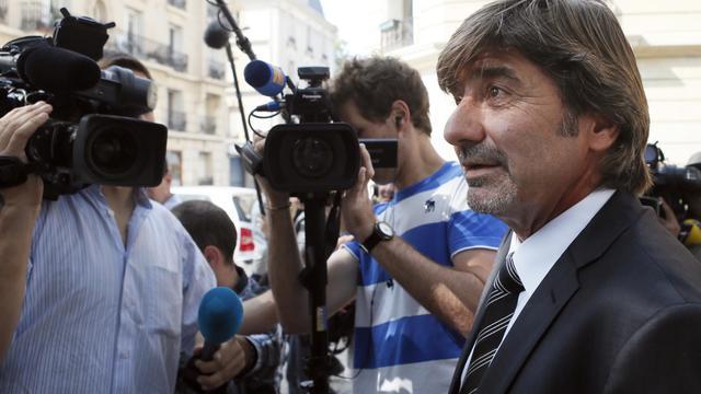 Le commissaire Michel Neyret, le 4 septembre 2012.