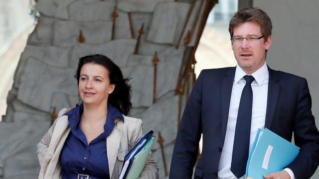 Cécile Duflot et Pascal Canfin, les deux ministres écologistes du gouvernement.