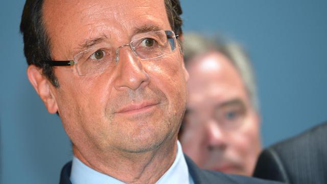 François Hollande le 7 septembre 2012.