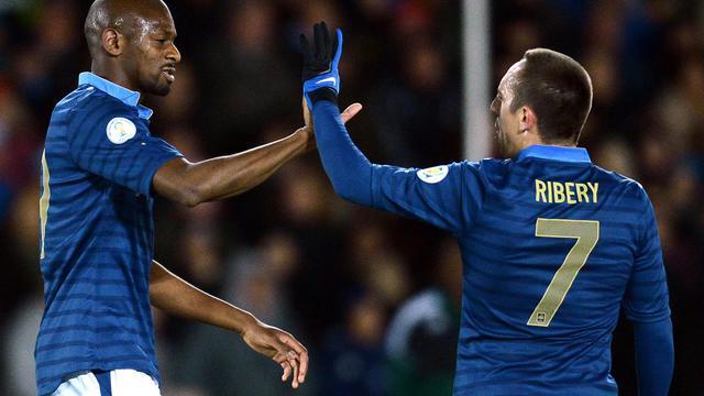 Abou Diaby et Franck Ribéry.