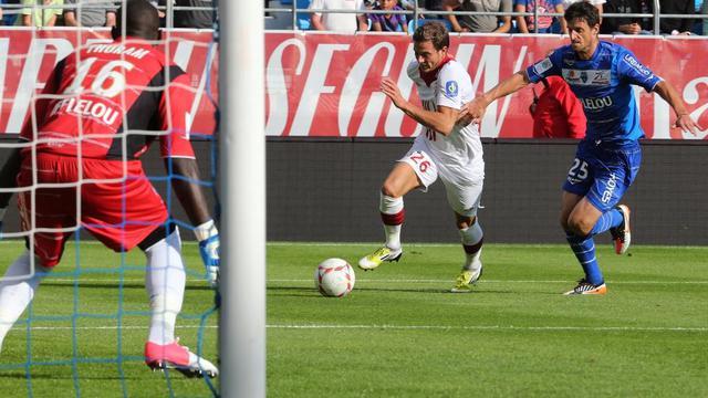 Lille, tenu en échec à Troyes (1-1) lors de la 5ème journée de ligue 1