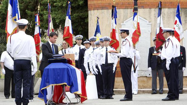 Le ministre de l'Intérieur Manuel Valls, le 27 septembre 2012 à Nice [Patrice Coppee / AFP]