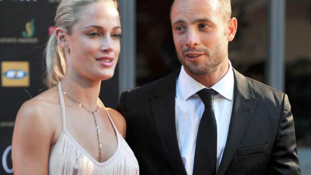 Reeva Steenkamp et Oscar Pistorius.