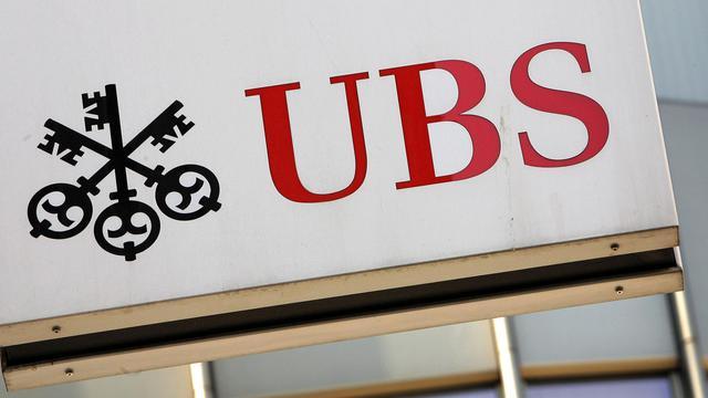 Une banque UBS à Zurich en Suisse