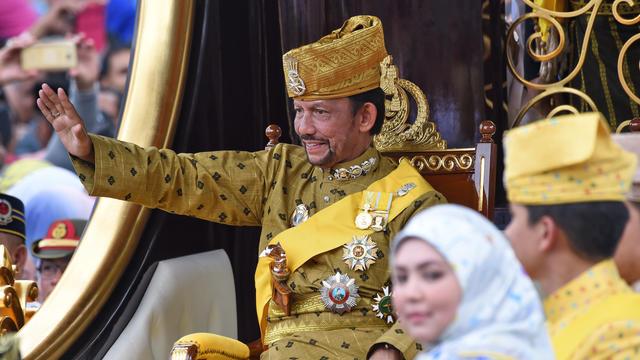 Le sultan de Brunei.