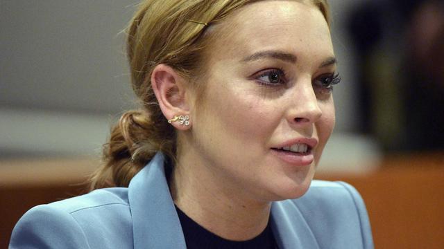 Lindsay Lohan, le 29 mars 2012