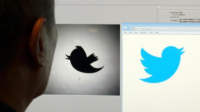 Le logo du réseaux social Twitter.