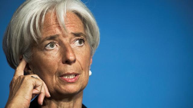 Christine Lagarde, le 24 septembre 2012