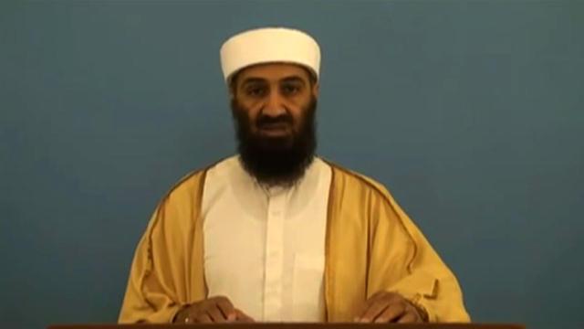 Capture d'écran d'une vidéo publiée par le Bureau du directeur du renseignement national (ODNI) le 20 mai 2015 où apparait Oussama Ben Laden.