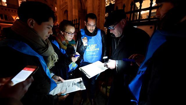 Cette année, 353 secteurs seront ratissés par 2.000 bénévoles la nuit du 7 au 8 février.