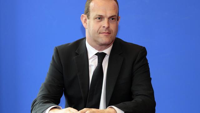 Le secrétaire général du Front national (FN) Steeve Briois, le 6 octobre 2011 à Nanterre [Jacques Demarthon / AFP/Archives]