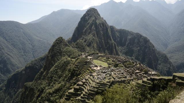 L'ancienne cité inca de Machu Picchu, en août 2016 [GOH CHAI HIN / AFP/Archives]