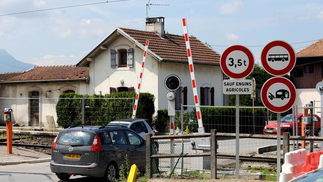 Un passage à niveau [Jean-Pierre Clatot / AFP/Archives]