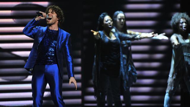 """Une représentation de la comédie musicale """"Jésus Christ Superstar"""", au Beacon Theatre de New York le 10 juin 2012 [Theo Wargo / Getty Images/AFP/Archives]"""