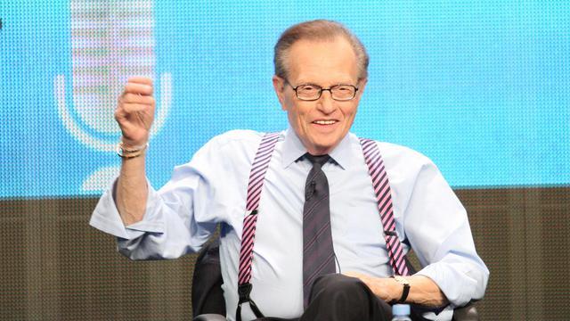 L'ancien présentateur vedette de CNN Larry King le 31 juillet 2012 à Beverly Hills, en Californie [Frederick M. Brown / Getty Images/AFP/Archives]