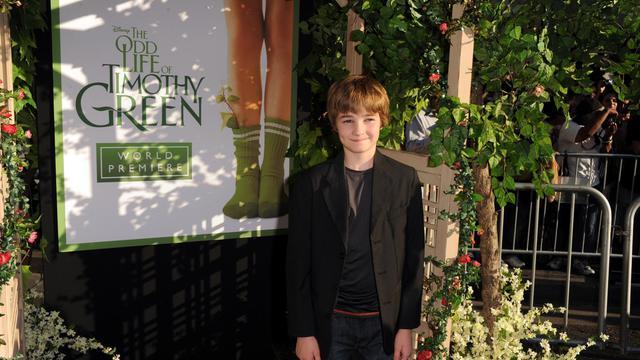 """Les studios Disney s'aventurent sur un terrain sensible avec """"The Odd Life of Timothy Green"""", un film qui retrace l'arrivée """"magique"""", chez un couple d'Américains stériles, d'un petit garçon semblable en tous points à l'enfant dont ils ont toujours rêvé.[GETTY IMAGES NORTH AMERICA]"""