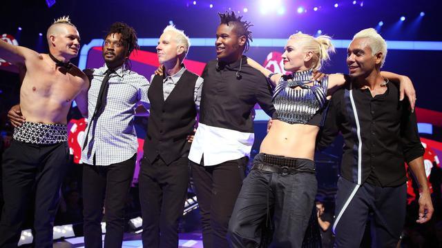 Le groupe No Doubt avec la chanteuse Gwen Stefani, le 21 septembre 2012 à Las Vegas, Nevada [Christopher Polk / Getty Images/AFP/Archives]