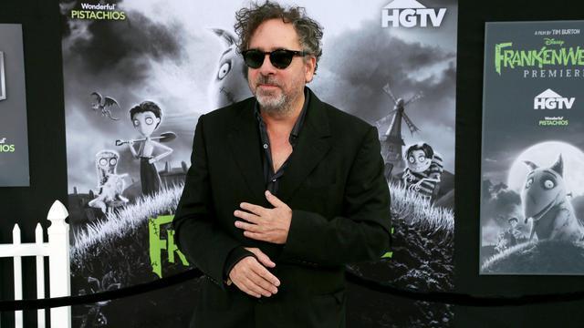 """Tim Burton lors de la Première de """"Frankenweenie"""", le 24 septembre 2012. [Frederick M. Brown / Getty Images/AFP]"""