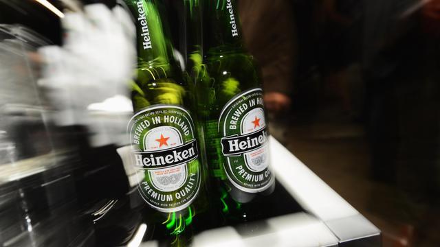 Des bouteilles Heineken [Andrew H. Walker / Getty Images/AFP/Archives]