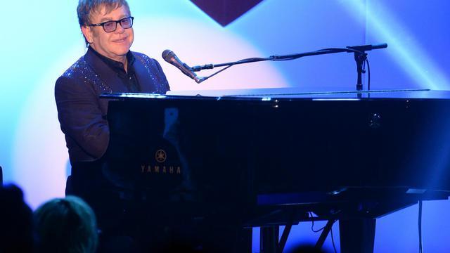 Le chanteur Elton John, le 3 mai 2013 à Century City en Californie [Jason Merritt / Getty Images/AFP/Archives]