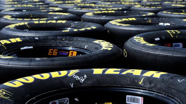 Des pneus Goodyear [John Harrelson / Getty Images/AFP/Archives]