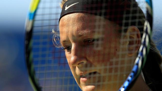 La Bélarusse Victoria Azarenka à l'US Open, le 7 septembre 2012 à New York [Chris Trotman / Getty Images/AFP/Archives]