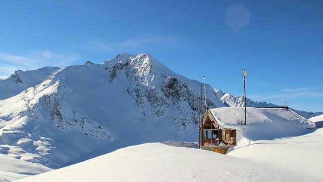 Photo non datée du site de l'avalanche qui a tué cinq légionnaires près de Valfréjus le 18 janvier 2016 [HERVE DELEGLISE / AFP/Archives]