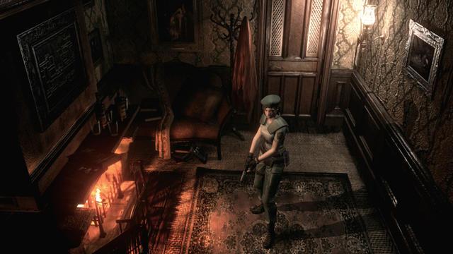 Resident Evil HD bénéficie de graphismes plus léchés tout en gardant l'essence du jeu original.