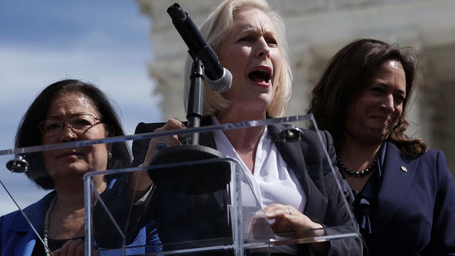 Dernière candidate en lisse, Kirsten Gillibrand est la quatrième élue démocrate à se lancer dans la course à la présidentielle de 2020