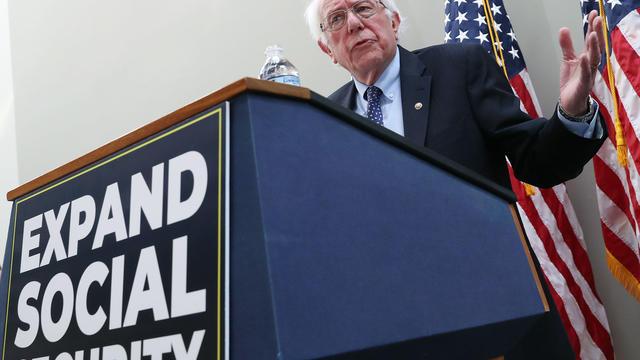Le sénateur du Vermont, âgé de 77 ans, un indépendant apparenté au groupe démocrate, était le rival d'Hillary Clinton lors des primaires en 2016.