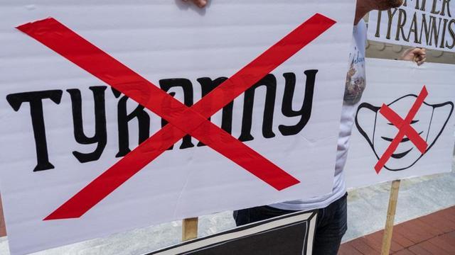 Caleb Wallace avait été impliqué dans l'organisation, le 4 juillet 2020, d'une manifestation baptisée «The Freedom Rally». (Image d'illustration)