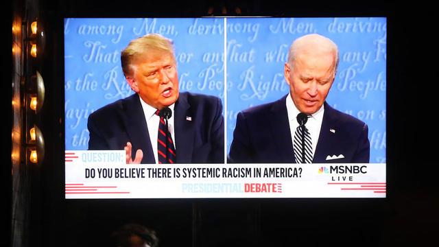 Il faudra deux écrans cette fois-ci pour écouter Donald Trump et Joe Biden