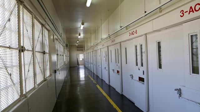 Le couloir de la mort de la prison de San Quentin, à quelques kilomètres de San Francisco.