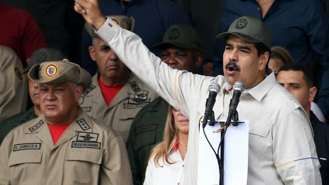 Le président vénézuélien Nicolas Maduro  [Yuri CORTEZ / AFP/Archives]