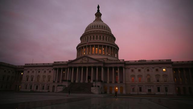 Le Sénat américain, le 11 mars 2014 à Washington [MARK WILSON / GETTY IMAGES NORTH AMERICA/AFP/Archives]