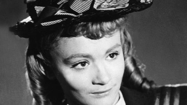 Portrait non daté de l'actrice française Danièle Delorme [ / AFP]