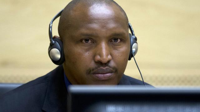 Bosco Ntaganda lors de sa première comparution devant la Cour pénale internationale le 26 mars 2013 à La Haye  [PETER DEJONG / POOL/AFP/Archives]