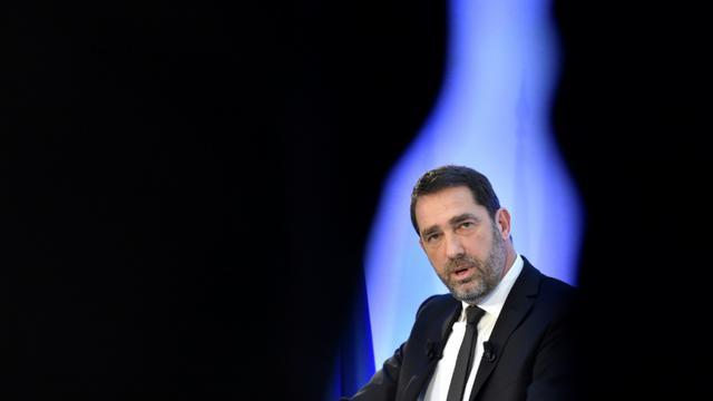 Christophe Castaner, délégué général de LREM et ministre des Relations avec le Parlement, le 26 janvier 2018 à Paris [ALAIN JOCARD / AFP]