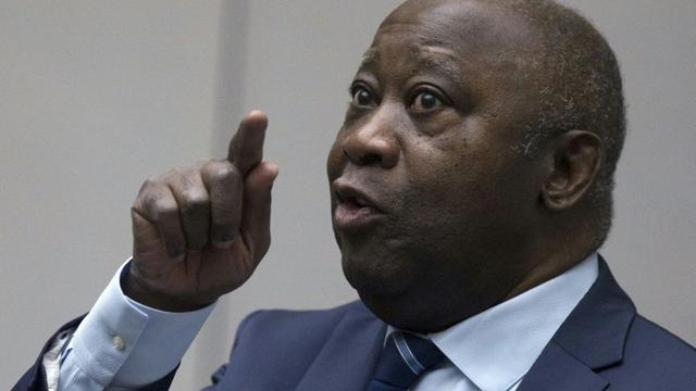 Photo archive du 15 janvier 2019 montrant l'ancien président ivoirien Laurent Gbagbo devant la Cour pénale internationale (CPI)  [Peter Dejong / ANP/AFP/Archives]